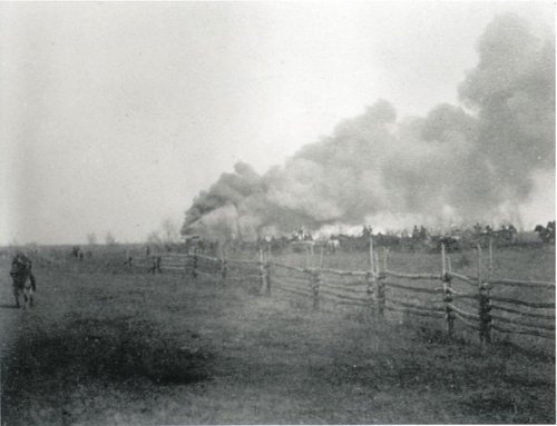 Batoche Burning